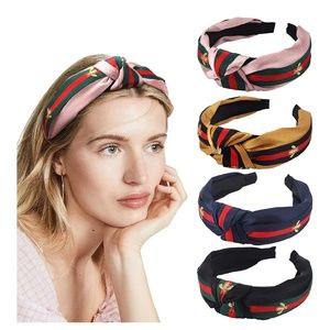 Accessories - 🆕 4 Pairs Cross of Top knot Head Bands